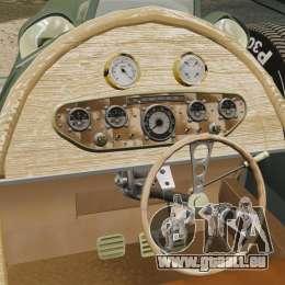 Auto Union Type C 1936 pour GTA 4 est un côté