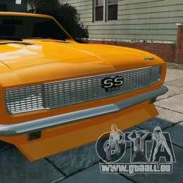Chevrolet Camaro SS 1967 pour GTA 4 est un droit