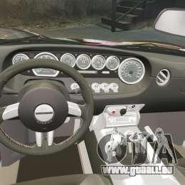 Ford GT1000 2006 Hennessey HD Vinyl [EPM] pour GTA 4 est un côté