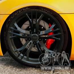 Audi R8 GT Spyder für GTA 4 Rückansicht