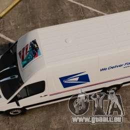 Mercedes-Benz Sprinter US Mail pour GTA 4 est un droit