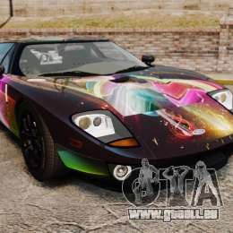 Ford GT1000 2006 Hennessey HD Vinyl [EPM] pour GTA 4