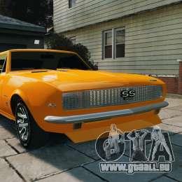 Chevrolet Camaro SS 1967 für GTA 4