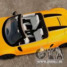 Audi R8 GT Spyder pour GTA 4 est un droit