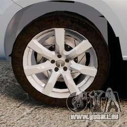 Nissan X-Trail pour GTA 4 Vue arrière