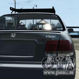 Honda Civic 1.6i ES für GTA 4 rechte Ansicht