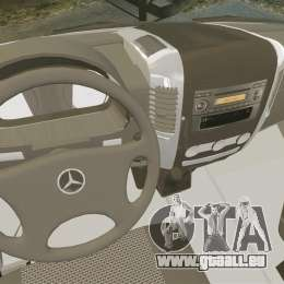 Mercedes-Benz Sprinter US Mail für GTA 4 Rückansicht