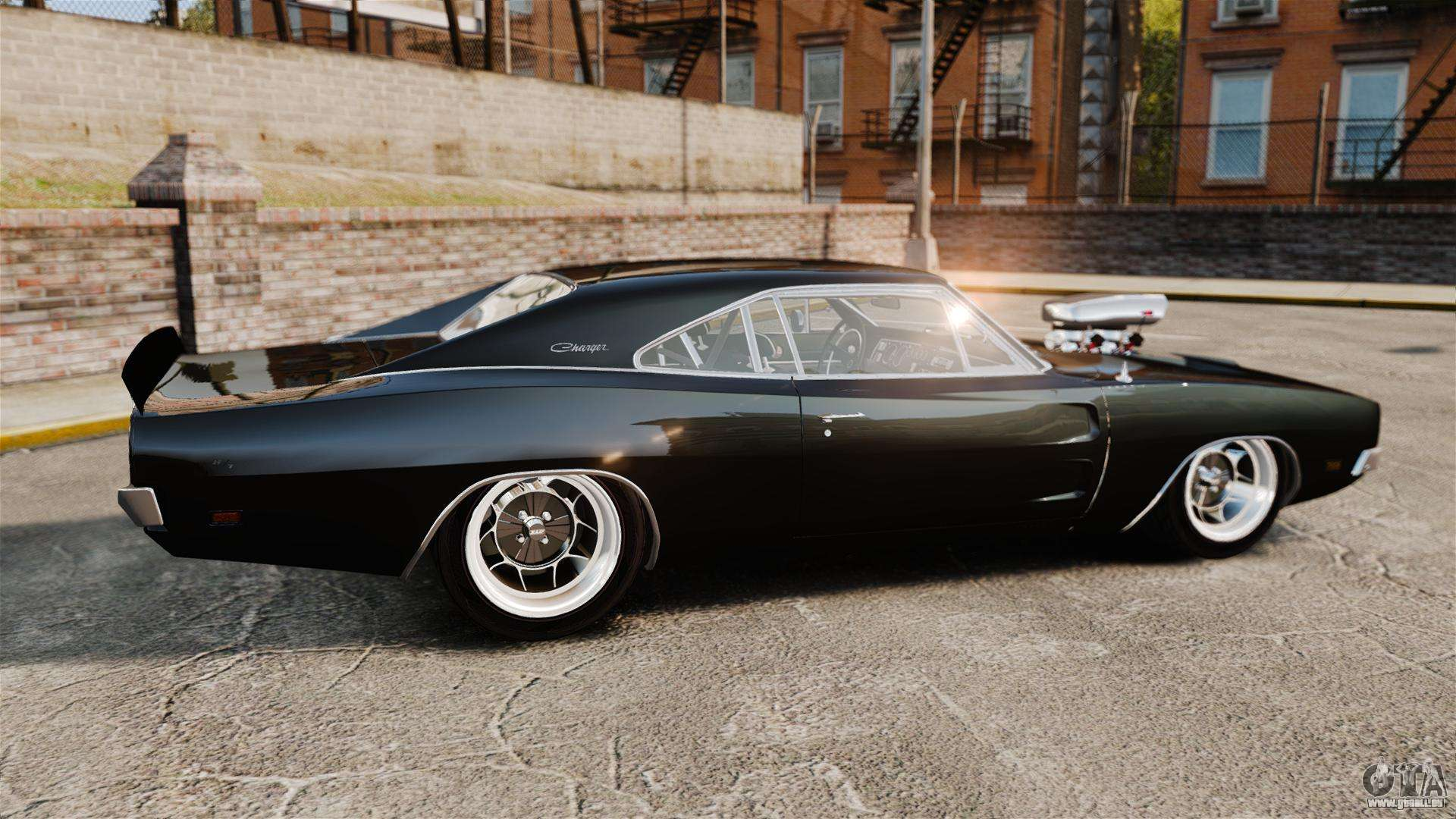 Dodge Charger 1969 F 252 R Gta 4