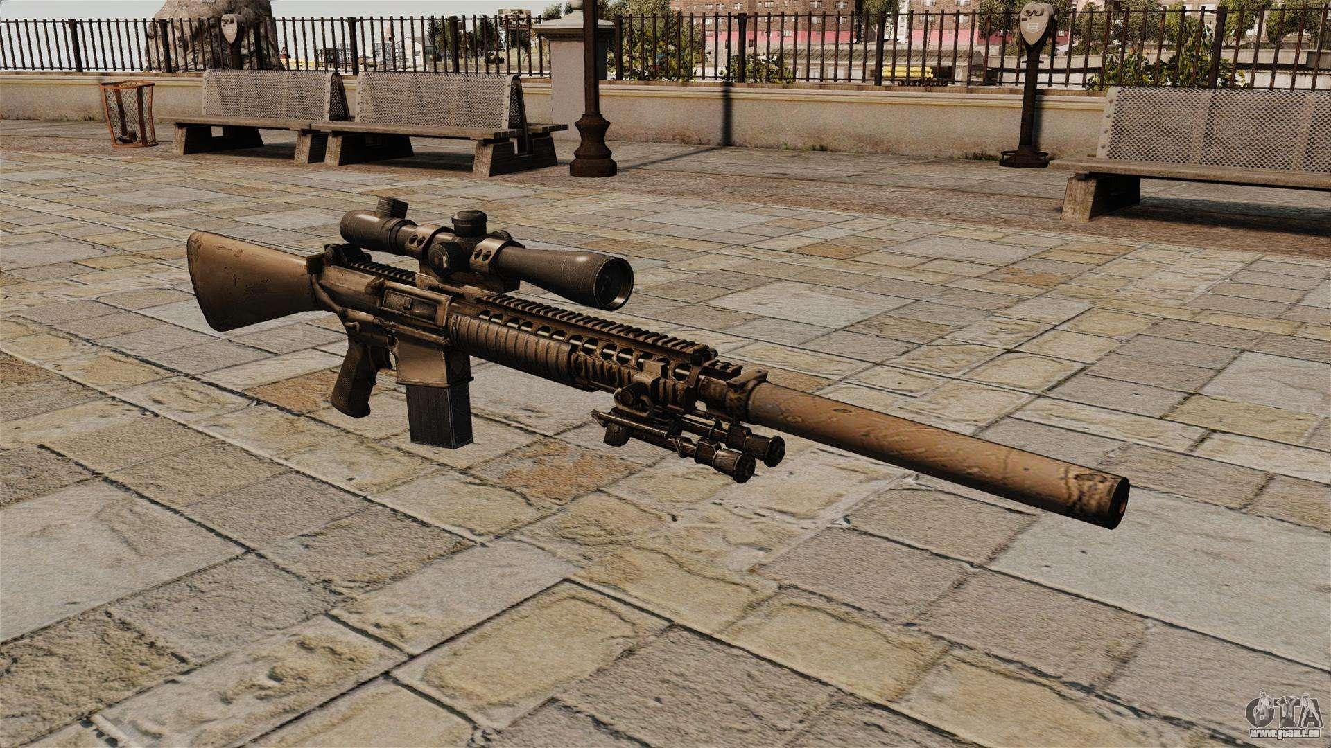 Le fusil de sniper M110 pour  M110 Sniper Rifle