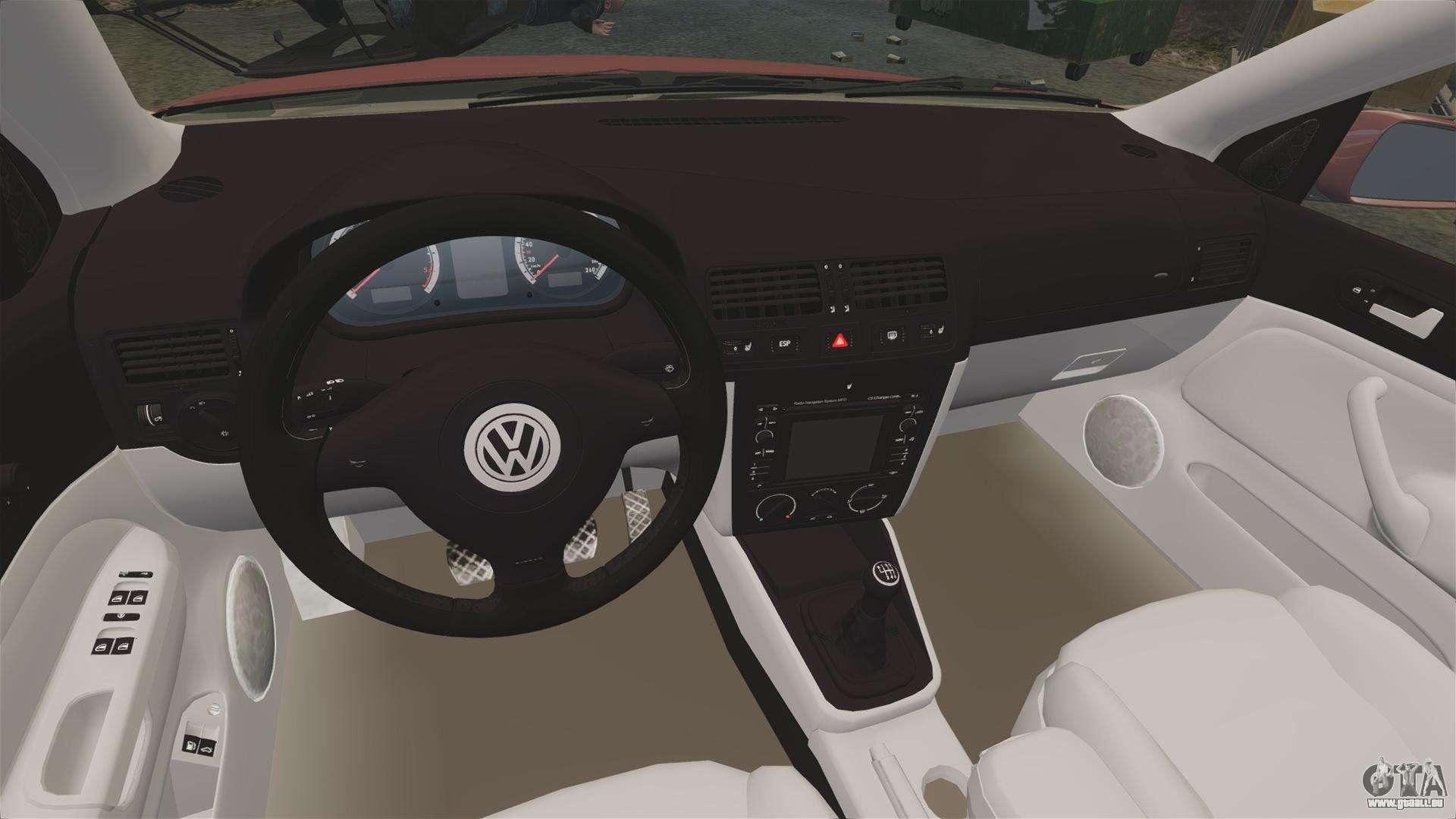 Volkswagen bora vr6 2003 pour gta 4 for Entreposage interieur pour vr