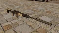M14-Gewehr mit Schalldämpfer