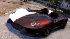 Lamborghini Aventador J 2012 Carbon