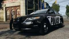 Ford Taurus Police Interceptor 2010 pour GTA 4