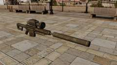 Barrett M82A1 Sniper Gewehr mit Schalldämpfer