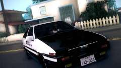 Toyota Trueno AE86 Initial D 4th Stage