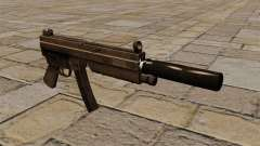 Die MP5 Maschinenpistole mit Schalldämpfer