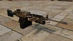 La mitrailleuse légère M249 Camo