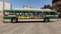 Véritable publicité sur les taxis et les bus