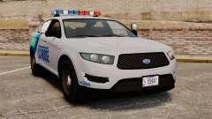 GTA V Vapid Police Stanier Interceptor [ELS]