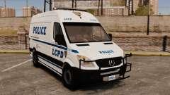 Mercedes-Benz Sprinter 2500 Prisoner Transport für GTA 4