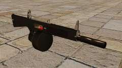 Die AA-12-Flinte mit Schalldämpfer