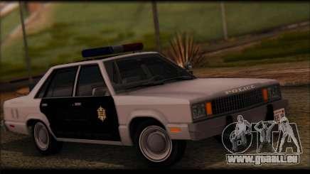 Ford Fairmont 1978 4dr Police pour GTA San Andreas