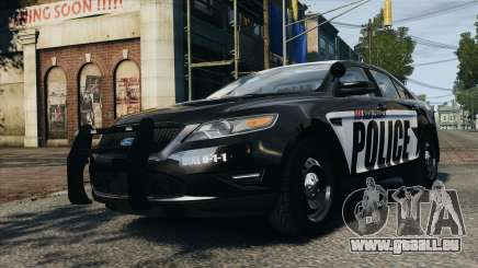 Ford Taurus Police Interceptor 2010 pour GTA 4