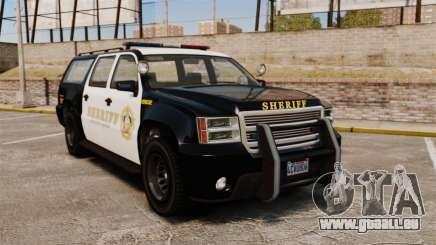 GTA V Declasse Granger Sheriff pour GTA 4