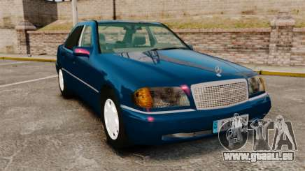 Mercedes-Benz C220 W202 v2.0 pour GTA 4