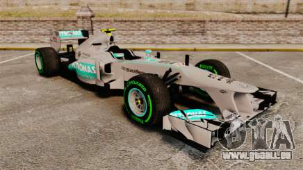 Mercedes AMG F1 W04 v4 pour GTA 4