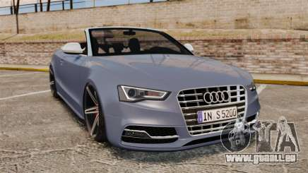 Audi S5 Convertible 2012 pour GTA 4