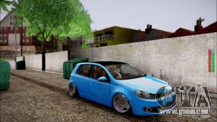 Volkswagen mk6 Stance Work für GTA San Andreas