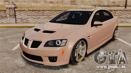Pontiac G8 GXP [VE] 2009 pour GTA 4