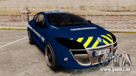 Renault Megane RS Gendarmerie Nationale [ELS] pour GTA 4
