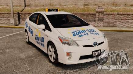 Toyota Prius 2011 Warsaw Taxi v2 für GTA 4