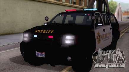 Une jeep de la police de GTA V pour GTA San Andreas