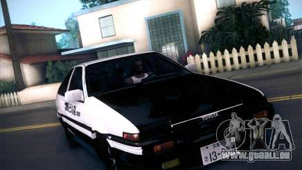 Toyota Trueno AE86 Initial D 4th Stage pour GTA San Andreas