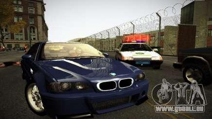 BMW E46 M3 CSL für GTA San Andreas