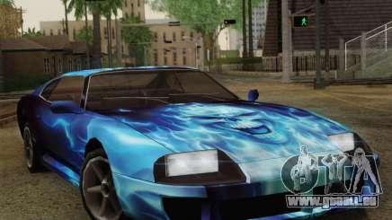 Les travaux de peinture pour Jester pour GTA San Andreas