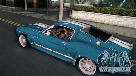 Shelby GT500 E v2.0 pour GTA San Andreas