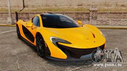 McLaren P1 2014 [EPM] für GTA 4