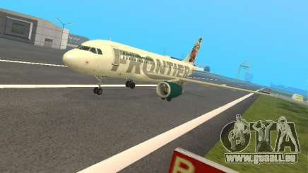 Airbus A319-111 Frontier Airlines Red Foxy pour GTA San Andreas