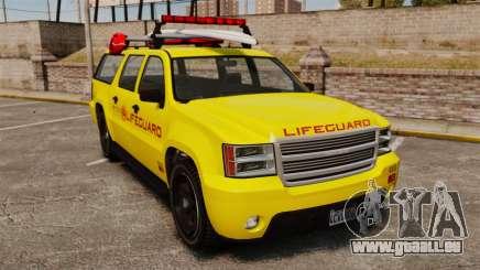 GTA V Declasse Granger 3500LX Lifeguard pour GTA 4
