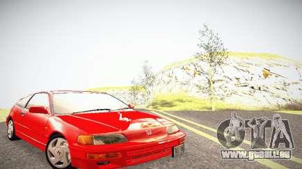 Honda CRX - Stock für GTA San Andreas
