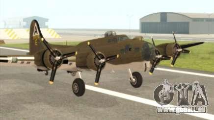 B-17G für GTA San Andreas