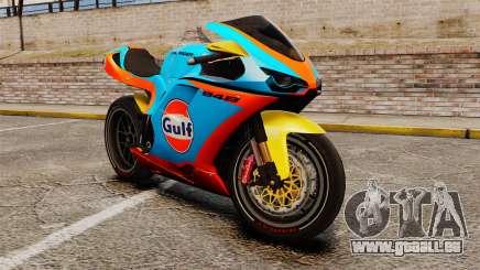 Ducati 848 Gulf für GTA 4