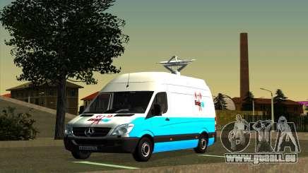 Mercedes Sprinter Entire FM pour GTA San Andreas