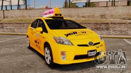 Toyota Prius 2011 Adelaide Yellow Taxi pour GTA 4