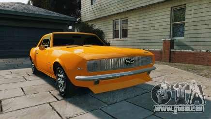 Chevrolet Camaro SS 1967 pour GTA 4