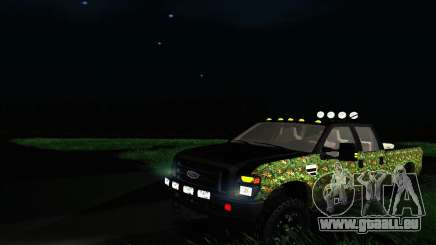 Ford F-250 Realtree Camo Lifted 2010 pour GTA San Andreas